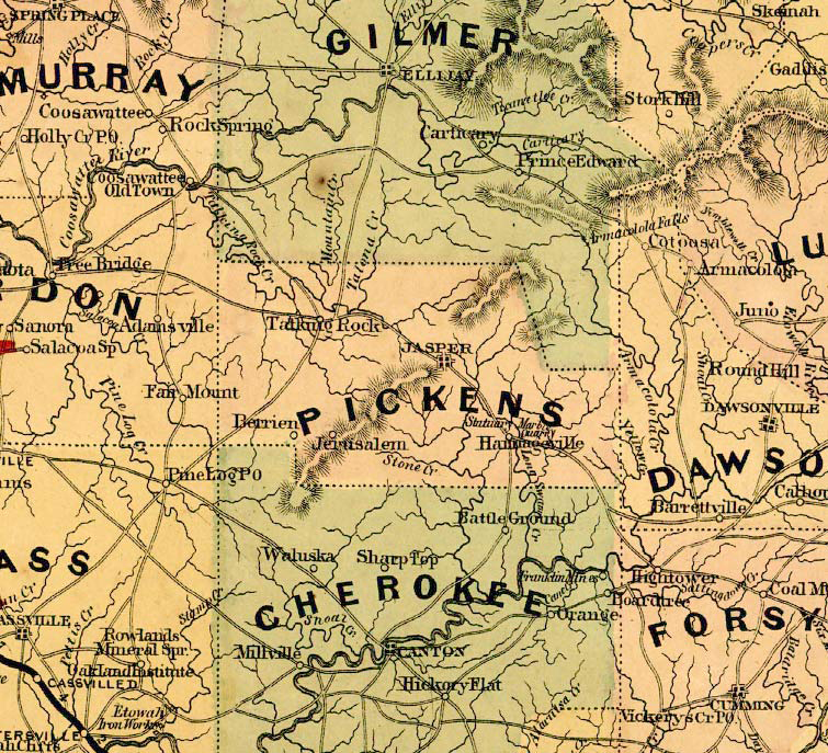 pickens1864map